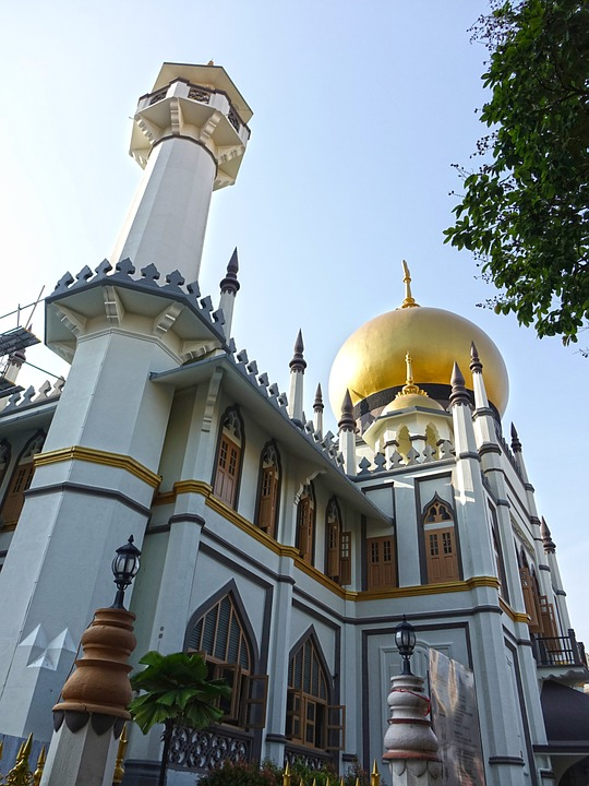 Sultan Mosque Kampong Glam Singapore Masjid Sultan