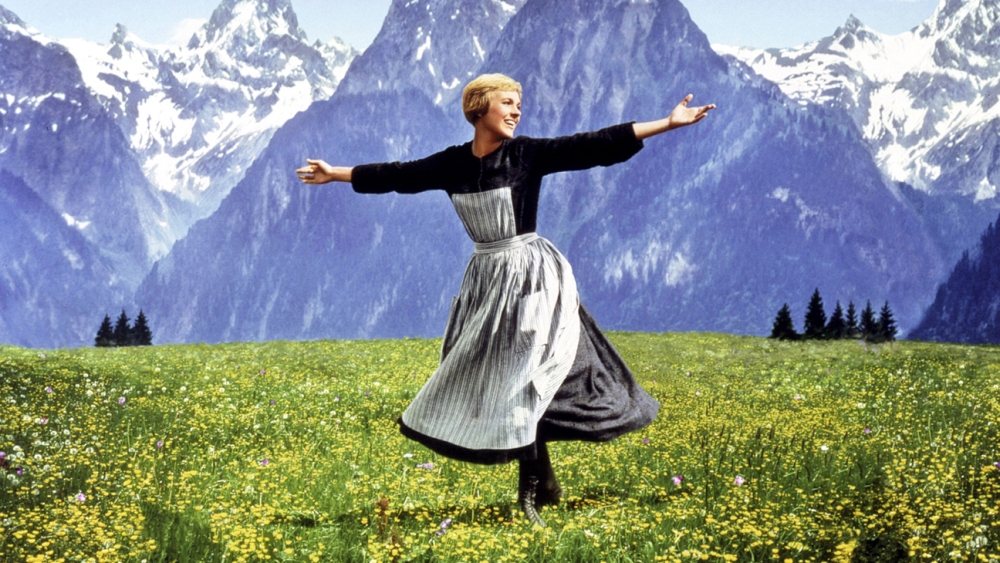 Sound of Music (1965) Julie Andrews Credit: 20th Century Fox/Courtesy Neal Peters Collection.